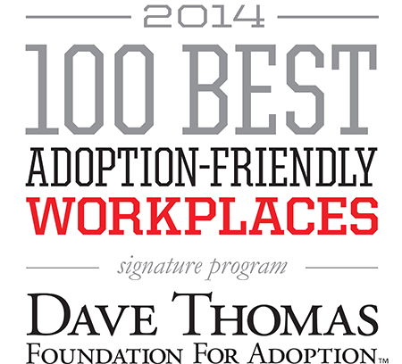 2014 - 100 Best Adoption Friendly Workplaces